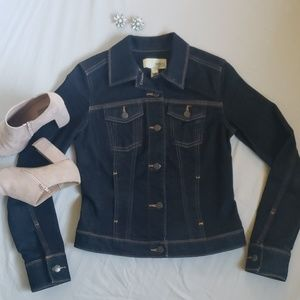 MNG by Mango Dark denim stretch jean jacket